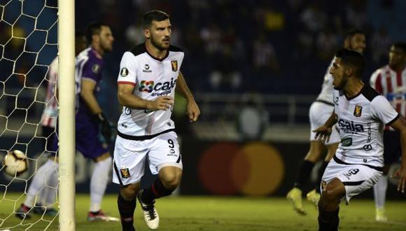 Melgar visita a Alianza Universidad en Huánuco por el Clausura de la Liga 1. (Foto: AFP)