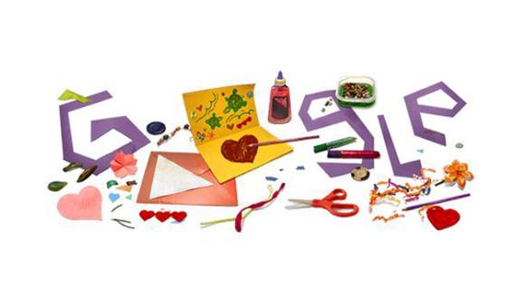 Google y su doodle por el Día de la Madre. (Foto: Google)