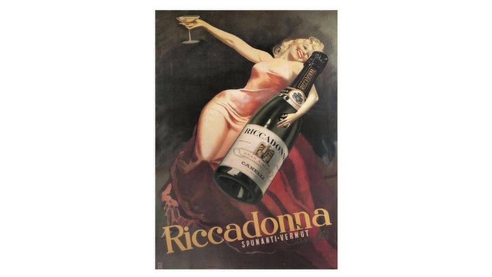'Riccadonna' de Gino Boccasile, 1939 (Difusión).