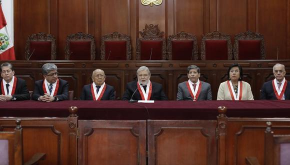 Fallo del TC fue denegado con los votos de Augusto Ferrero Costa, Manuel Miranda, Ernesto Blume y José Luis Sardón (GEC).