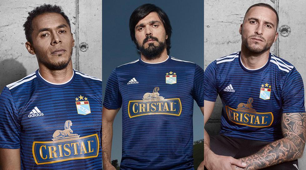 Sporting Cristal presentó su camiseta alterna que usará hasta 2019. (Sporting Cristal)
