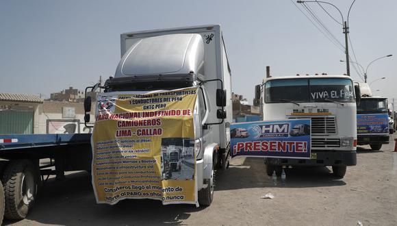 """""""No queremos tener situaciones en donde por ejemplo los que están trasladando el oxígeno (medicinal) se queden bloqueados en la carretera"""", dijo el viceministro de Transporte (Foto: Archivo GEC)"""