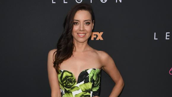 "Aubrey Plaza alcanzó la fama con la comedia televisiva ""Parks and Recreation"". (Foto: AFP)"