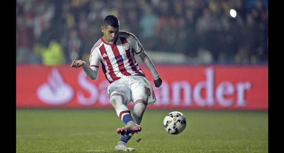 Derlis González fue titular.(Foto: AFP)