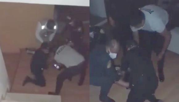Sofía Franco fue reducida por al menos seis policías tras denuncia de violencia