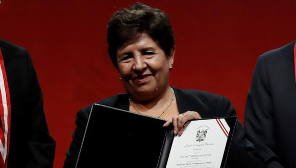 Rosario Paredes, congresista de Acción Popular, solicitó la reprogramación de la sesión por descanso médico (GEC).