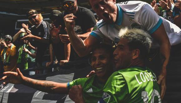 Ruidíaz marcó la diferencia antes del entretiempo del enfrentamiento. (Foto: @SoundersFC)