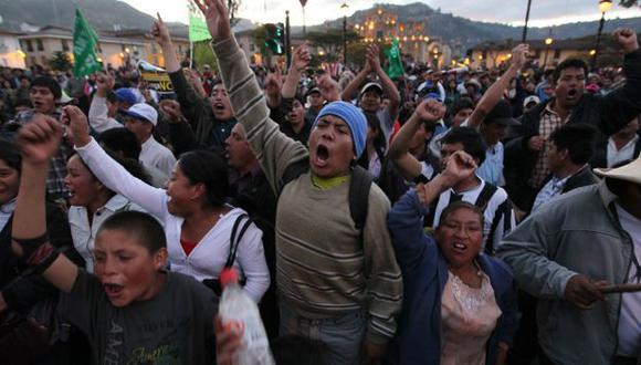 Protestas espantan capitales. (USI)