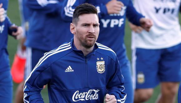 Lionel Messi regresó a la Albiceleste después de ocho meses. (Foto: Reuters)