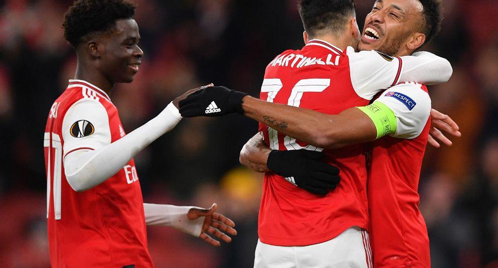 Arsenal necesita ganar o, al menos, empatar en Bélgica para seguir en la Europa League. (Foto: AFP)