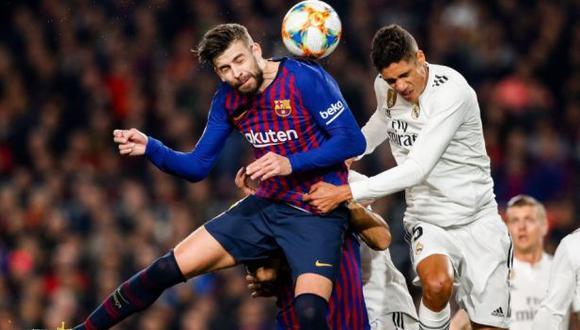 Real Madrid y Barcelona buscarán el pase a la final de la Copa del Rey. (Foto: Real Federación Española de Fútbol)