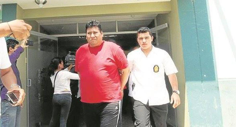 Víctor Rodríguez, 'El Comisario', estuvo preso desde setiembre de 2015. Es acusado del asesinato de dos ex dirigentes de la azucarera Tumán.