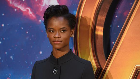 "Letitia Wright aseguró no imaginarse la secuela de ""Black Panther"" sin Chadwick Boseman. (Foto: Anthony Harvey / AFP)."