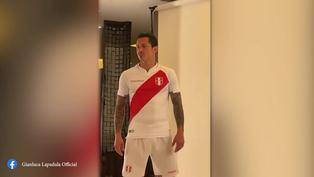 Selección Peruana: Gianluca Lapadula posó con la nueva camiseta