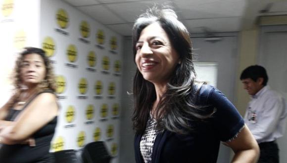 EXPLICACIONES. Ministra estará mañana en el Congreso. (Nancy Dueñas)