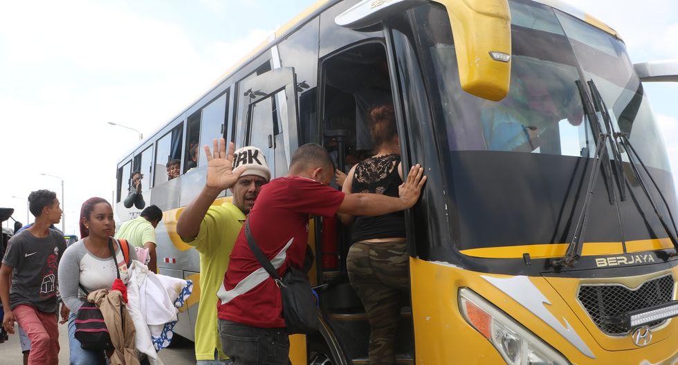 Entre los intervenidos, 47 han sido identificados como ciudadanos de nacionalidad venezolana, dos son colombianos y otros dos son ecuatorianos. (GEC/Referencial)