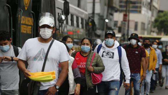 El Minsa registra a diario una cantidad acumulada de contagios de COVID-19 del día y de días anteriores. (Foto: Violeta Ayasta /@photo.gec)