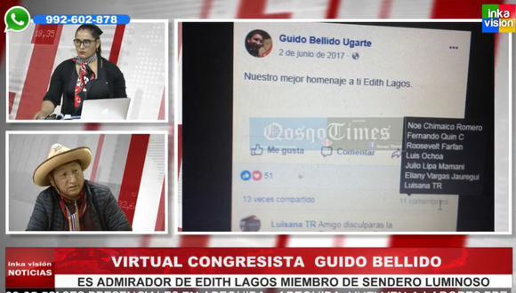 Guido Bellido brindó una entrevista en abril de este año en la que habló sobre Sendero Luminoso.