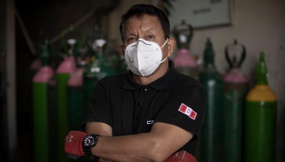 Luis Barsallo es técnico enfermero (r) de la Marina de Guerra. (FOTO: Joel Alonzo).