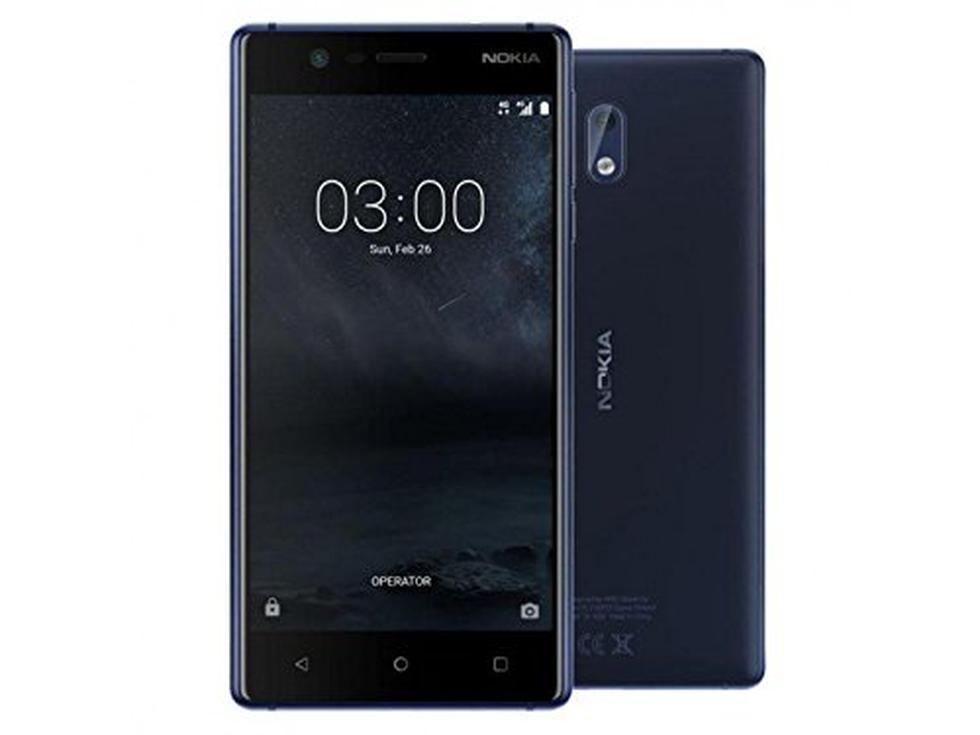 El Nokia 3 está hecho a precisión con un borde de aluminio hecho a máquina, tallado de una sola pieza de aluminio. (Foto: Nokia)