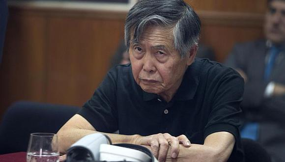 Alberto Fujimori: Dos infartos cerebrales causaron dolencia en el brazo. (USI)