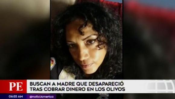 Virna Gonzáles Jirón (46) desapareció el último miércoles luego de cobrar por la venta de aves que distribuye en el mercado de Villa Sol.