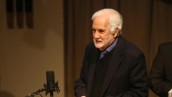 """Ricardo Blume recibió la medalla """"Mi vida en el teatro"""", el más alto galardón a la actuación en México, que otorga el Instituto de Teatro de la Unesco (Foto: El Comercio)"""