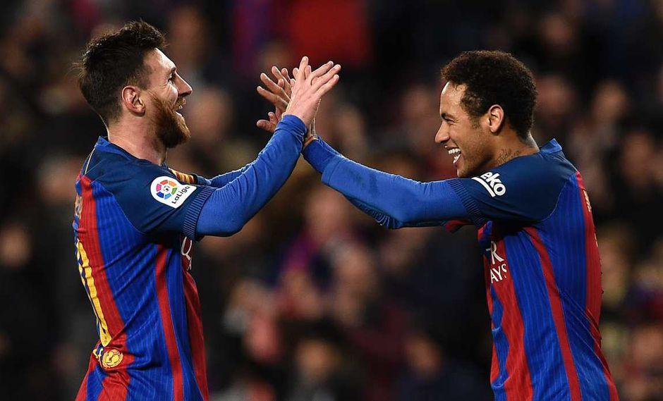 El presidente de Barcelona se refiere al contrato de Lionel Messi y la operación por Neymar. (Foto: AFP)