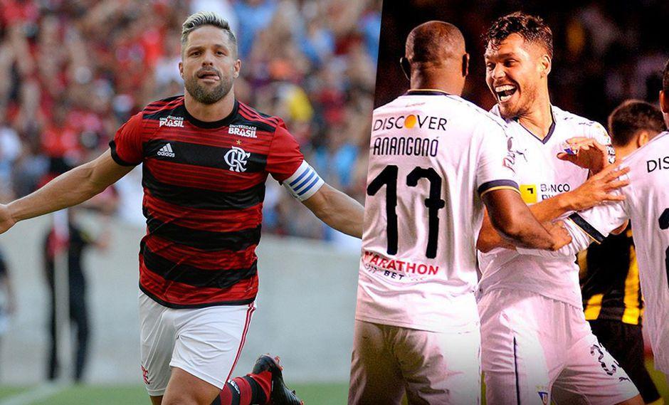 Flamengo debuta en casa ante LDU Quito, excampeón de la Libertadores. (Foto: Facebook LDU / Facebook Flamengo)