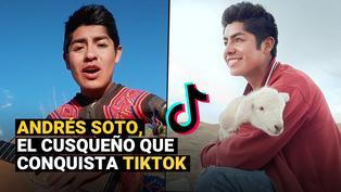 Andrés Soto, el TikToker cusqueño que cautiva con sus vídeos hechos en el campo
