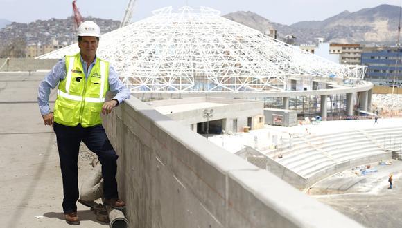 """""""(En los Panamericanos) debemos dar las condiciones para que se puedan quebrar marcas. Vamos a poder hacer campeonatos de nivel mundial"""", declara Neuhaus (Francisco Neyra/Perú21)."""