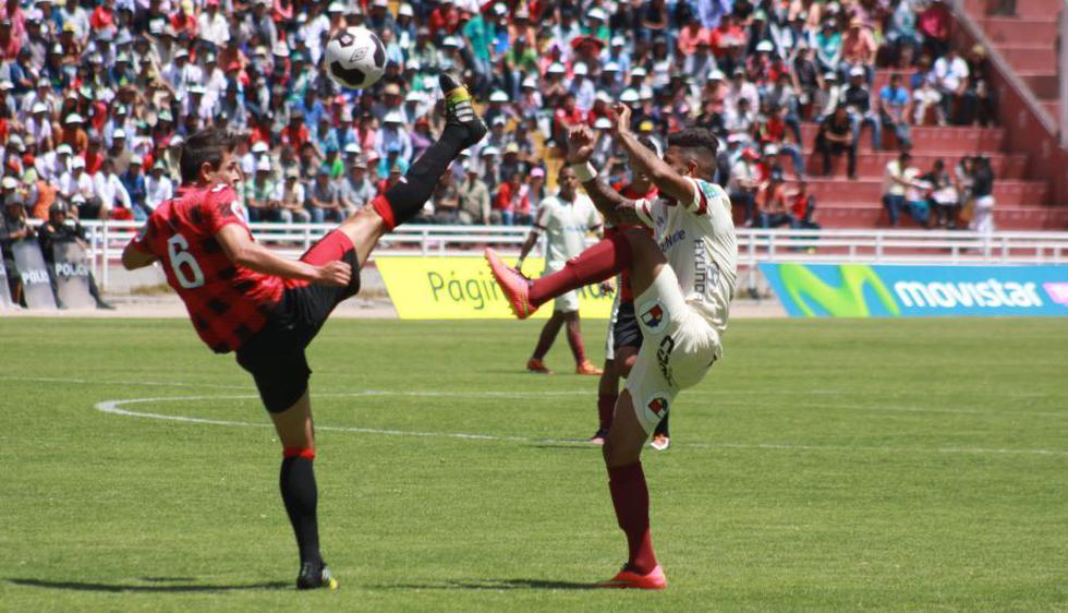 Universitario y Melgar empataron 1-1 en Arequipa. (Omar Cruz)