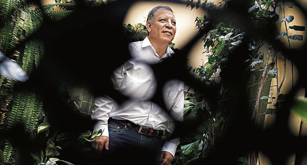 Marco Arana Zegarra, congresista de la bancada del Frente Amplio. (César Campos/Perú21)