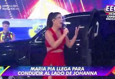 EEG: María Pía Copello es presentada como la nueva conductora y así reaccionó Johanna San Miguel