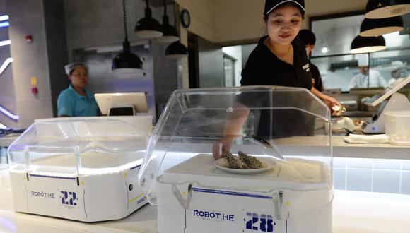 Se trata de presentar una nueva tecnología y no tanto un nuevo modelo de negocio, en un país donde el coste del trabajo es bastante débil. (Foto: AFP)