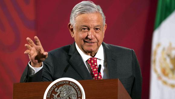 La prensa azteca también cuestionó al jefe de Estado las precauciones personales que está tomando frente al virus. (AFP).