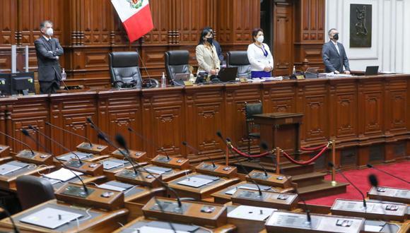 Por unanimidad el Congreso aprobó ampliar las facultades a la comisión multipartidaria que investiga el 'Vacunagate'. (Foto: Mario Zapata / GEC)