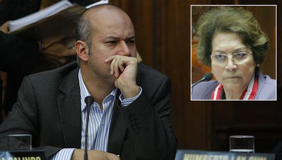 Sergio Tejada respondió a exfiscal de la Nación, Gladys Echaíz. (Mario Zapata/Andina)