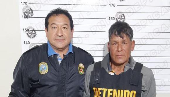 La Libertad. Presunto terrorista es acusado de asesinatos de varios profesores en esta región. (PNP)