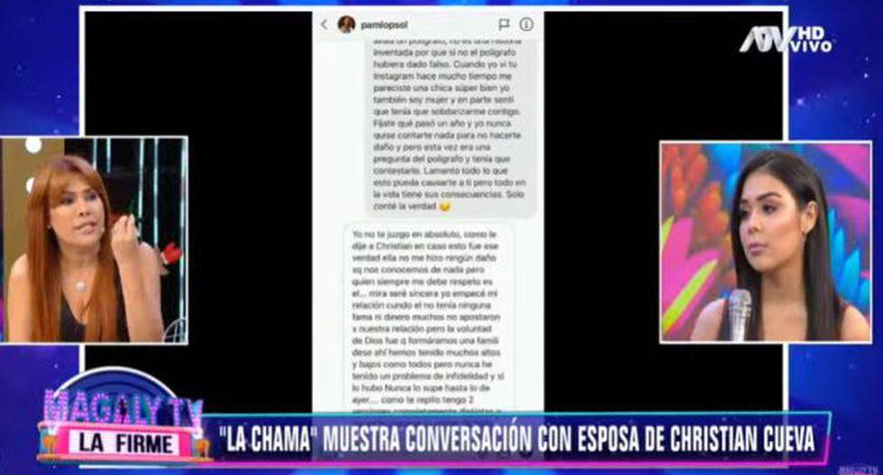 Alexandra Méndez ratificó su versión sobre Christian Cueva. (Imagen: ATV)