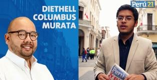 Diethell Columbus, candidato a la Alcaldía de Lima de Fuerza