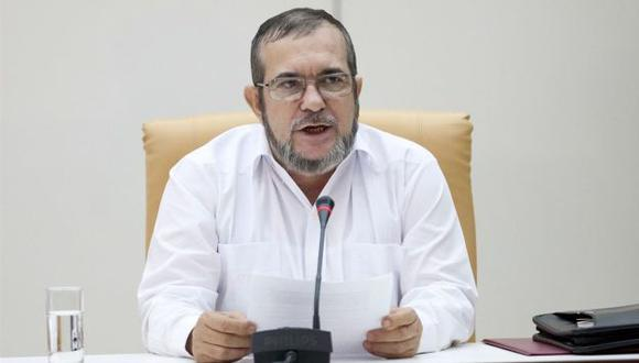 Rodrigo Londoño, alias 'Timochenko', líder de las FARC (El Heraldo).
