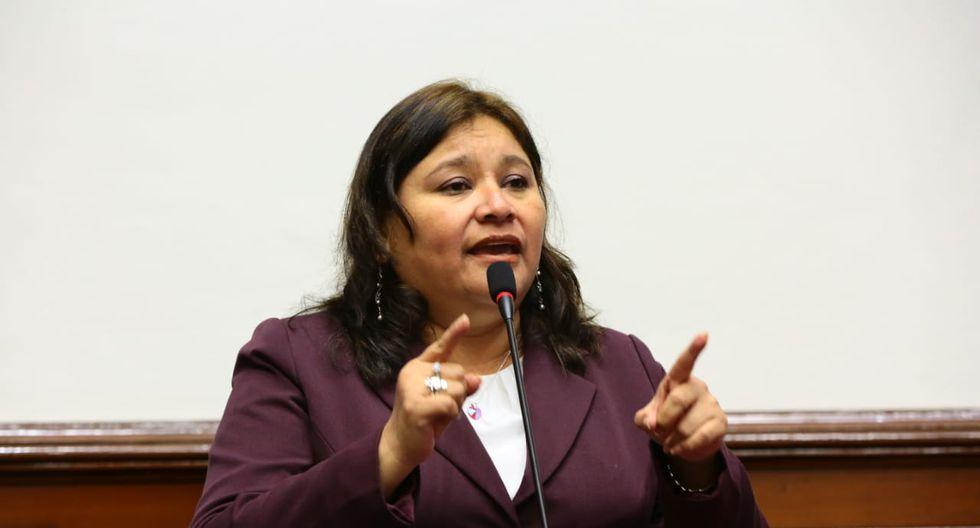 La congresista Janet Sánchez advirtió que la Comisión de Ética no sesiona desde el 8 de julio. (Foto: Congreso)