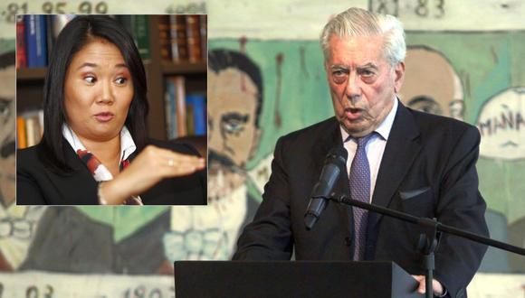 Mario Vargas Llosa considera que los peruanos deberían votar por Keiko Fujimori en la segunda vuelta (GEC).