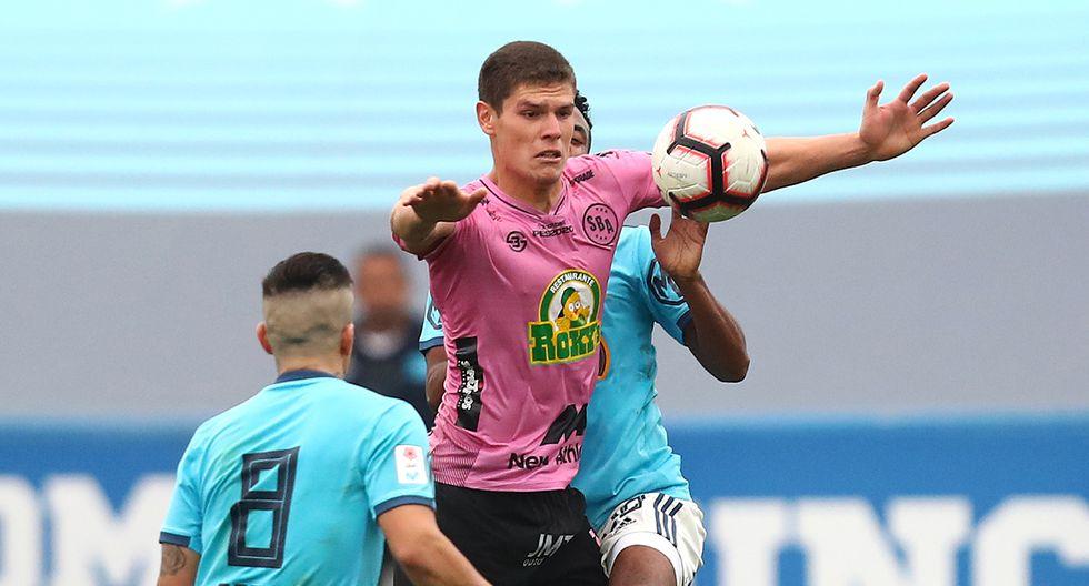 Sebastián Gonzales, delantero - 20 años / Sport Boys