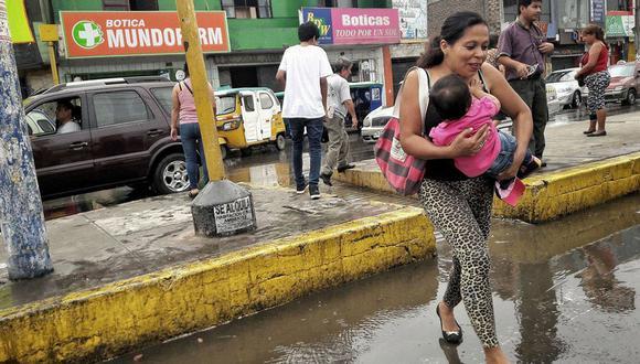 Senamhi pronostica lluvias en la zona Centro de Lima. (Renzo Salazar)