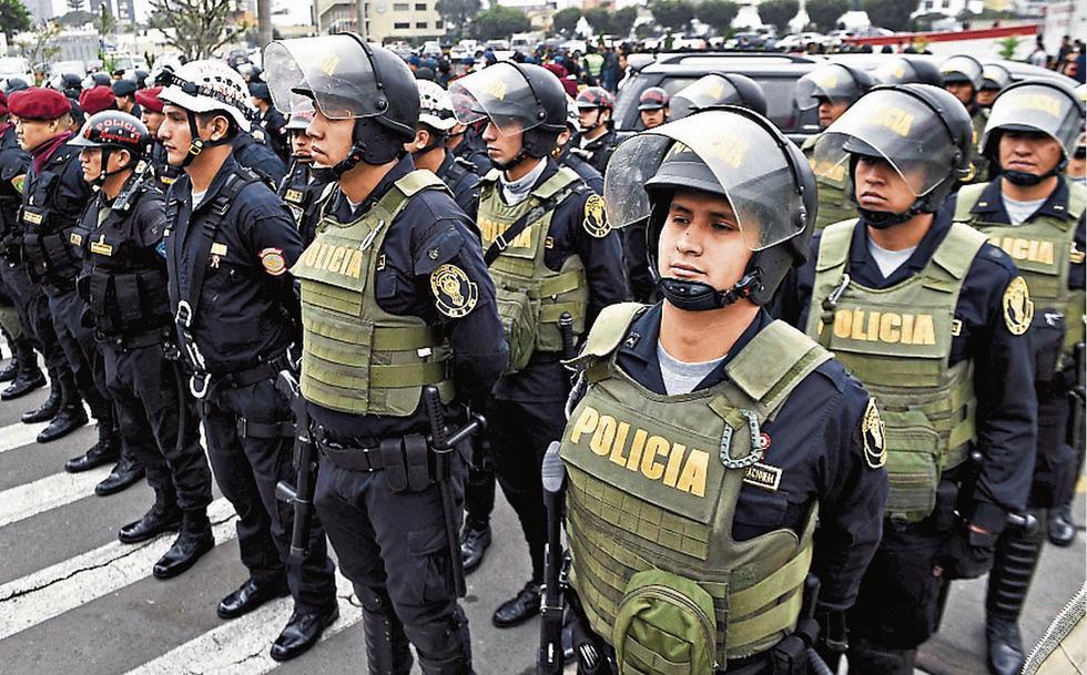 Más de 4 mil policías resguardarán la seguridad durante el Desfile Militar.