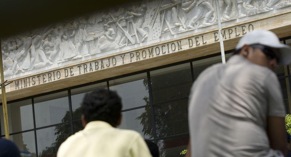 Ministerio de Trabajo y Promoción del Empleo (MTPE). (Foto: GEC)