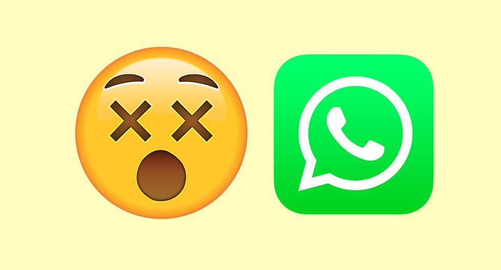 """¿Te has preguntado qué significa la carita con los ojos de """"X"""" de WhatsApp? Conoce la verdadera historia."""