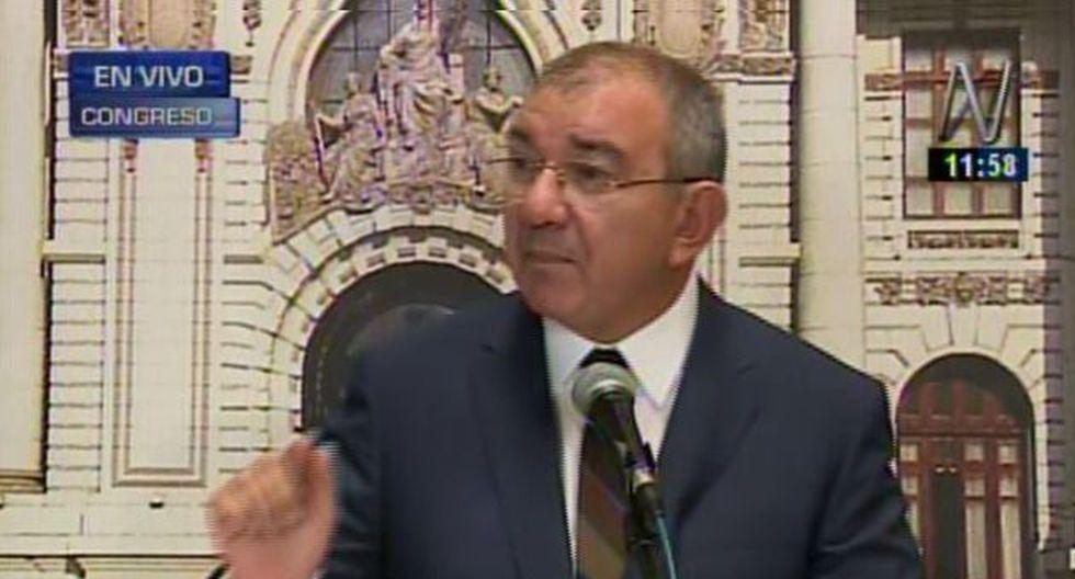 """""""Ley de Contrataciones del Estado nos obliga a comprar a través del catálogo electrónico"""", dijo José Cevasco."""